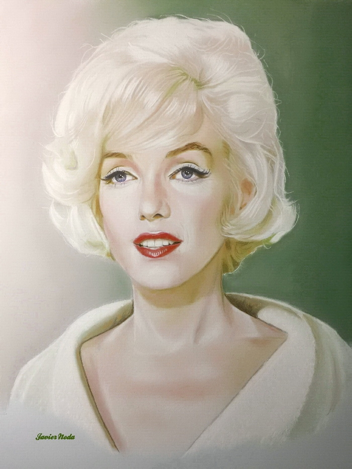 Marilyn Monroe by JavierNoda